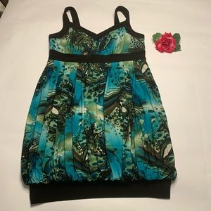 Dress Barn Womens Sz 14W Sleeveless Dress